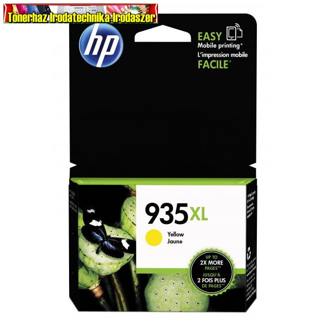 Eredeti HP C2P26AE Patron yellow No.935XL