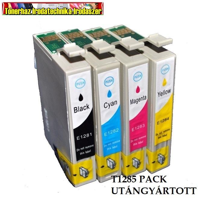 Epson T1285 Utángyártott multipack (T1281+T1282+T1283+T1284)