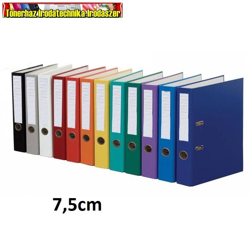 Glossy iratrendező A/4 75mm gerinc  különböző színekben