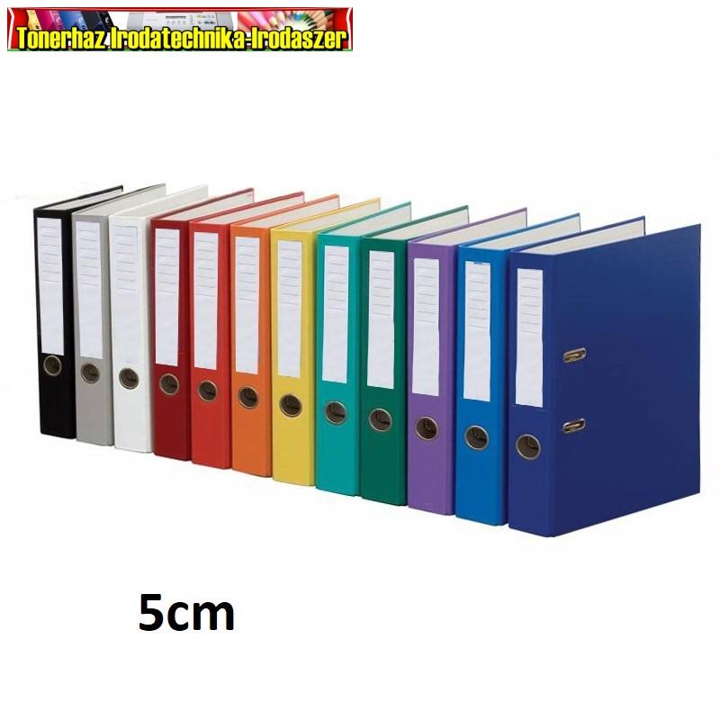 Glossy iratrendező A/4 50mm gerinc  különböző színekben