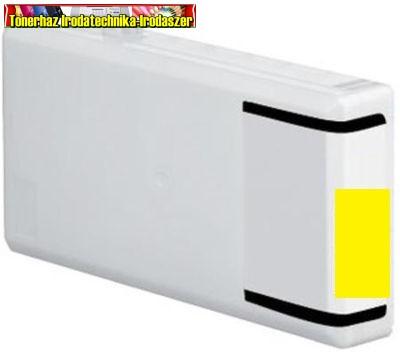 Epson T7894 XXL standard utángyártott nagy kapacitású yellow tintapatron 34ml