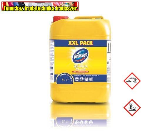 DOMESTOS Általános fertőtlenítőszer, citrom  illatban 5L