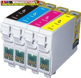 Epson T0715 utángyártott multipack (T0711,T0712,T0713,T0714)
