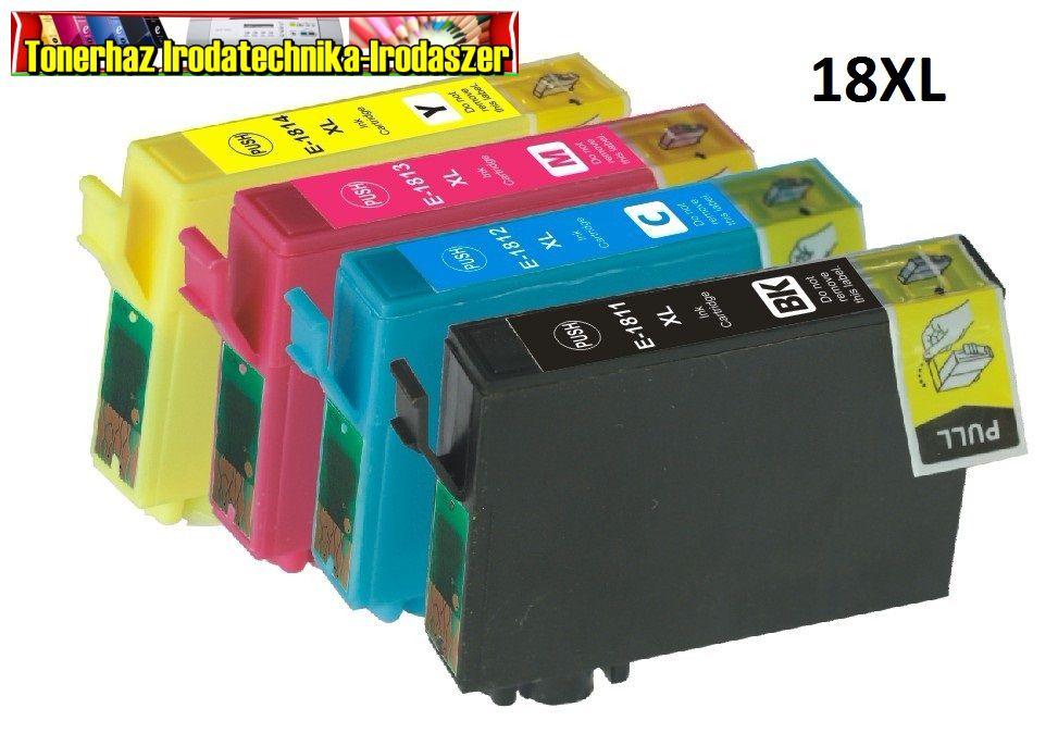 Epson 18XL T1811,T1812,T1813,T1814 utángyártott tintapatronok