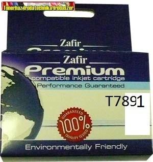 Epson T7891 XXL utángyártott nagy kapacitású fekete  tintapatron 70ml (4K)