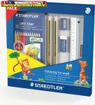 STAEDTLER  Special Pack Színező készlet , ajándék rajztömbbel