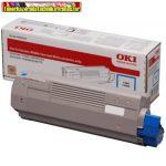 OKI 46508711 EREDETI nagy kapacítású Lézertoner C332, MC363 nyomtatókhoz,cyan; 3K
