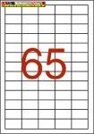 Apli Etikett (öntapadós címke), univerzális, 38x21,2 mm 100lap/dob (6500 címke/dob) (03127)