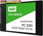 "Western Digital SSD 240GB 2,5"" SATA3 Green Series WDS240G2G0A"