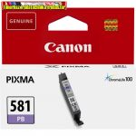 Canon CLI-581 eredeti Photo Blue tintapatron (cli581)