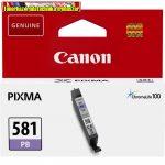 Canon CLI-581 eredeti Photo Blue tintapatron (cli581)