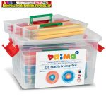 PRIMO Színesceruza  vastag, háromszögletű, 12x10db, műa. tároló dobozban 517TJ120