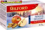 Milford Téli Örömök Alma-fahéj Ízű 20 filter (20x2,5gr)/dob