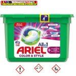 Ariel mosógél kapszula 3in1 13db Color&style