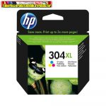 HP N9K07AE (304XL) eredeti Color tintapatron