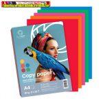 Másolópapír színes Bluering A/4 80g vegyes intenzív színek  5x20 ív/csomag