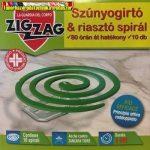 Zig zag szúnyogriasztó spirál 10db/cs