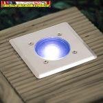 11440A - LED-es süllyeszthető, lépésálló szolár lámpa