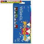 Tempera Educa 10 darabos 12ml-es /szín