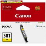 Canon CLI-581 eredeti Yellow tintapatron (cli581)