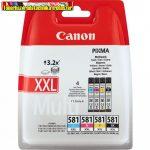 Canon CLI-581XXL Eredeti Color Photo Pack (C,M,Y,BK) (cli581,cli581Xxl))