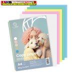 Másolópapír színes Bluering A/4 80g vegyes Pasztel színek  5x20 ív/csomag