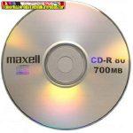 Maxell CD lemez 700MB  80' R 52x papírtokos (CD-R)