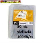 Fornax Lefűzhető genotherm 50 mikron víztiszta 100db/cs (50mik)