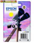 EPSON T02V4 (502) TINTAPATRON YELLOW 3,3ML (EREDETI)