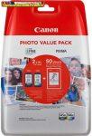 Canon PG-545XL+CL-546XL DUOPACK eredeti tintapatronok (cl546xl,cl 546xl,PG545xl,PG 545xl)+ Ajándék fotópapír