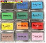 Festékpad hagyományos színekben ( nyomda festék)