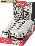 MAPED Shakky Fancy Hegyező  egylyukú, tartályos,  panda v. pingvin minta