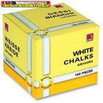 Táblakréta PRIMO kerek fehér, 100 db-os 015GB100RS