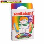 Sanitabant színes sebtapasz 20db/dob