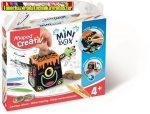 MAPED CREATIV, Mini Box Pénzpersely készítő kreatív készségfejlesztő készlet, színezhető,
