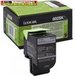 Lexmark 802SK (80C2SK0) eredeti toner, Fekete 2,5k