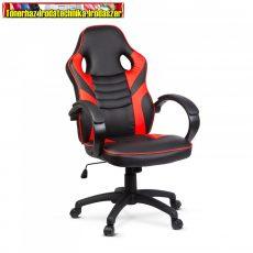 BMD1109RD Gamer szék karfával - piros - 71 x 53 cm / 53 x 52 cm