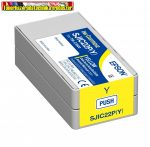 EPSON eredeti TM-C3500 PATRON YELLOW 32,5ML (SJIC22P,C33S020604)