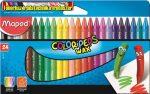 Zsírkréta, MAPED Color Peps Wax, 24 különböző szín (24db/cs)