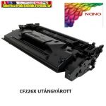 HP CF226X NANO import utángyártott Toner Black 9k No.26X