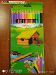 Memoris színesceruza készlet 12db-os (színes ceruza)