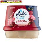 Glade Fürdőszobai légfrissítő zselé 180g Cherry&Peony