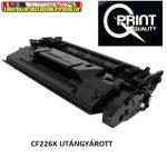HP CF226X QPRINT import utángyártott Toner Black 9k No.26X