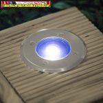 11440 - LED-es süllyeszthető, lépésálló szolár lámpa