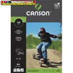 Fotókarton Canson A/4 180g fekete