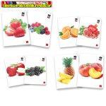 Füzet Pigna Fruits A/4 tűzött 42 lapos kockás (87-32)