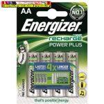 ENERGIZER Power Plus Tölthető elem (akku), AA ceruza, 4x2000 mAh,
