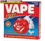 Vape Magic Elektromos Szúnyogírtó Készülék lapkához és folyadékhoz+ Utántöltő Folyadék - 36 ml