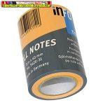 Jegyzettömb Info Notes 5620-35 öntapadós henger 60 mm x 10 m neon narancs