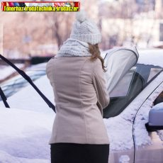 55804A Autós téli-nyári szélvédőtakaró / jegesedésgátló - 150 x 70 cm